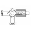 B. Braun Stopcock Discofix® 3 Way, 100/CS MON 180938CS