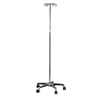 iv stand: Mabis Healthcare - Iv Pole 5Caster 4Prong 1/BX