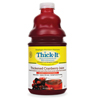 Dietary & Nutritionals: Kent Precision Foods - Thickened Beverage AquaCareH2O 64 oz. Bottle Cranberry Ready to Use Honey