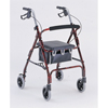 Merits Health Rollator Red Aluminum MON 46223800