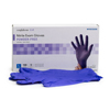 McKesson Exam Glove Confiderm 3.0 Large NonSterile Nitrile Standard Cuff Length Textured Fingertips Blue Not Chemo Approved, 100/BX MON 1107942BX