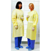 workwear healthcare: Cardinal Health - Isolation Gown One Size Fits Most Polypropylene Yellow Adult, 10EA/PK 10PK/CS