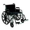 Merits Health Bariatric Wheelchair Heavy Duty Removable Desk Arm Mag Black 20 400 lbs. MON 47304200