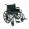 Merits Health Bariatric Wheelchair Heavy Duty Removable Desk Arm Mag Black 22 400 lbs. MON 47344200