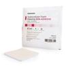 McKesson Foam Dressing 4 x 4 Square Non-Adhesive without Border Sterile MON 47372101