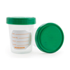 Exam & Diagnostic: McKesson - Specimen Container Polypropylene / Polyethylene Screw-On Lid 4 oz. / 120 cc NonSterile