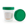 Specimen Collection: McKesson - Specimen Container Polypropylene / Polyethylene Screw-On Lid 4 oz. / 120 cc NonSterile