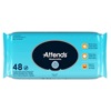 Attends Personal Wipes, Soft Pack, Aloe/Vitamin E, Unscented, MON 48003101