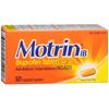 Johnson & Johnson Pain Relief Motrin® IB 200 mg Strength Coated Tablet 50 per Bottle MON 48142700