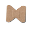 Wound Care: McKesson - Adhesive Strip Medi-Pak™ Performance Fabric Knuckle Beige, 100EA/BX