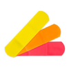 McKesson Kids™ Adhesive Strips, 3/4 X 3 Plastic Rectangle Neon Sterile, 100/BX, 24BX/CS MON 1055592CS