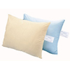 "Linens & Bedding: The Pillow Factory Division - Bed Pillow CareGuard 21"" x 27"" Blue Reusable"