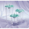 Bemis Health Care Suction Canister Hi-Flow® 1200 mL Self Sealing Lid, 12EA/PK 4PK/CS MON 48444010