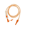 Specialty Medical Products Enteral Only Extension Set NeoMed 48 Orange Male/Female, Large Bore, PVC (NM-48ENENB) MON 48464600