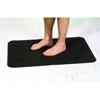 Alimed Slip Resistant Mat 2 X 3 Foot Black Rubber, 1/EA MON 500169EA