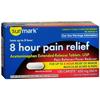 McKesson Pain Reliever sunmark® Caplets 650 mg, 100 per Bottle MON 49342710