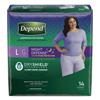 Kimberly Clark Professional Depend Night Defense® Protective Underwear (45599), Large, 28/CS MON 49553100