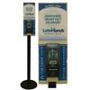hand sanitizers: Safehands - Sanitizer Floor Stand