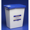 Hazardous Waste Control: Medtronic - SharpSafety™ Pharmaceutical Waste Container, Gasketed Hinged Lid, 12 Gallon