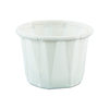 Solo Solo Souffle Cup .5 oz. White Paper, 250EA/PK 20PK/CS MON 50001200