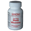 McKesson Multivitamin Supplement Tablet 100 per Bottle MON 50112712