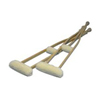 rehabilitation devices: Hermell Products - Imitation Sheepskin Crutch Cover & Hand Grips Set
