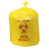 Colonial Bag Isolation Liner Yellow 45 Gallon 37 X 50 Inch, 10EA/PK 10PK/CS MON 50501100