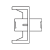 B. Braun Connector, Fluid Dispensing, 100 EA/CS MON 148357CS