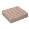 Span America Seat Cushion Geo-Matt® 16 X 18 X 4 Inch Segmented Foam MON 51104300
