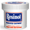ResiCal Itch Relief Resinol 55% / 2% Strength Ointment 1.25 oz. Jar MON 51382700