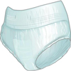 First Quality Protective Underwear Nu-Fit™ Medium, 50EA/PK 2PK/CS MON 51513100