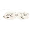 Physio Control HeartSine Defibrillator Trainer Electrode (11516-000011), 25 EA/PK MON 51612500