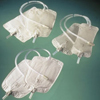 Drainage: Coloplast - Urinary Leg Bag Conveen Security+ Anti-Reflux Valve 600 mL Polyethylene