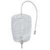 Drainage: Coloplast - Urinary Leg Bag Conveen Security+ Anti-Reflux Valve 800 mL Polyethylene