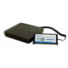 Detecto Scale Floor Scale Digital 400 X 1/2 lbs. Black 120Vac or Battery MON 51793700