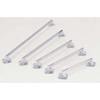 Merits Health Grab Bar Deluxe 24 Inch L Chrome Chrome Plated Steel, 6EA/BX MON 52043500