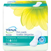 "incontinence liners and incontinence pads: SCA - Tena® Serenity® 13"" Ultra Thin Pads, Long, 128/CS"
