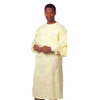 workwear healthcare: Fashion Seal  - Protective Gown Large 1-Ply Fabric Yellow Adult