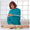 Physical Therapy Physical Therapy Accessories: Sammons Preston - Graded ROM Arc 36 X 3.4 X 6 Inch, 1.2 Inch Sturdy Arc, Plastic