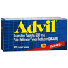 Pfizer Pain Relief Advil 200 mg Strength Tablet 100 per Bottle MON 53312700