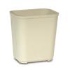 Saalfeld Redistribution Wastebasket 28 Quart Beige Thermoset Polyester MON 710939EA