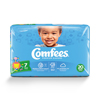 Attends Baby Diaper Comfees Tab Closure Size 7 Disposable MON 54343100