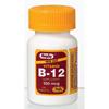 Vitamins OTC Meds Vitamin B: Major Pharmaceuticals - Vitamin B-12 Supplement Rugby 500 mcg Strength Tablet 100 per Bottle