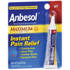 Vitamins OTC Meds Pain Relieving Rub: Pfizer - Oral Pain Relief Anbesol Gel 0.33 oz. Tube
