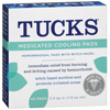 OTC Meds: Blistex - TUCKS® Medicated Cooling Pads (41388520407), 40/BX, 12BX/CS