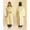 workwear healthcare: Cardinal Health - Barrier Gown Universal SMS Fabric Yellow Adult, 100EA/CS