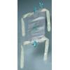 Bard Medical Urinary Leg Bag Bard Dispoz-a-Bag Anti-Reflux Valve 32 oz. Vinyl MON 166615EA