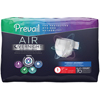 First Quality Adult Incontinent Brief Prevail Air™ Overnight Tab Closure Size 1 Disposable Heavy Absorbency, 16/BG MON 56568601