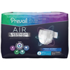First Quality Adult Incontinent Brief Prevail Air™ Overnight Tab Closure Size 2 Disposable Heavy Absorbency, 18/BG MON 1126351BG