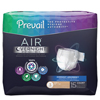 First Quality Adult Incontinent Brief Prevail Air™ Overnight Tab Closure Size 3 Disposable Heavy Absorbency, 60/CS MON 56588600